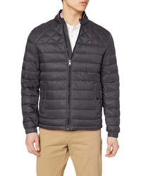 Tommy Hilfiger C Light Weight Padded Bomber Blouson, - Gris