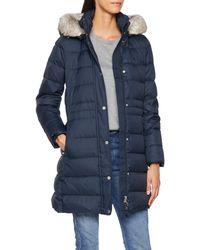 Tommy Hilfiger New Tyra Down Coat Abrigo - Azul
