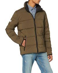 Superdry Printed Reversible Jacket Chaqueta - Verde