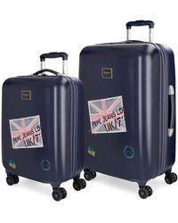 Pepe Jeans Scarf Set di valigie - Multicolore