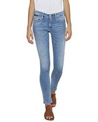 Replay Luz Coin Zip Jeans - Blau