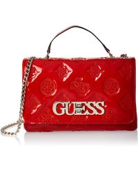 Guess Chic Convertible Flap - Rouge