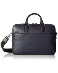 Ecco Jos Laptop Bag 13 Inch Briefcase - Blue