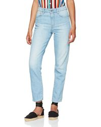G-Star RAW - 3301 High Waist Straight 90's Ankle Jeans - Lyst