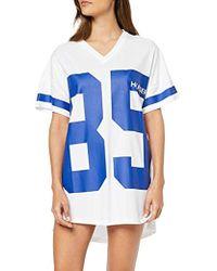 Tommy Hilfiger Vn Dress SS Print Camisón - Azul
