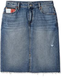 Tommy Hilfiger TJW Long Skirt MAIA TJAMR Kleid - Blau