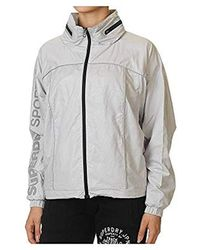 7ac76fb30f5bb Gym Running Grey Jacket In Size M Grey - Gray
