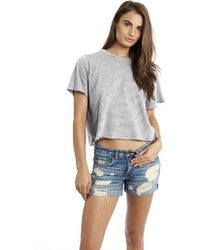 Groceries Apparel - Wolfgang Top In White Stripe - Lyst