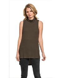 Feel The Piece By Terre Jacobs Flynn Top In Olive - Green