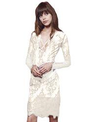 StyleStalker - Island Of Love Dress In White - Lyst