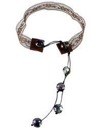 Sibilla G Jewelry - Sibilla G Boho Lace Choker - Lyst