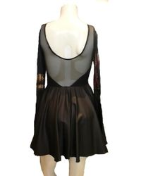 Donna Mizani | Sweetheart Skate Leather Dress | Lyst