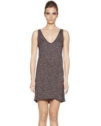 Riller & Fount - Catalinia Deep Scoop Neck Slip Dress In Dapple - Lyst
