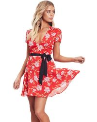 Lovers + Friends - Cassidy Dress South Beach Floral - Lyst