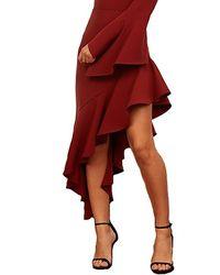 StyleStalker Ayden Skirt - Red