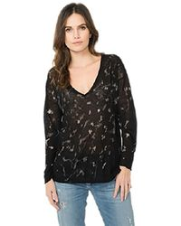 Feel The Piece By Terre Jacobs Mallory Top In Black