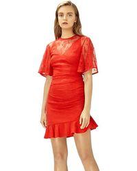 Keepsake - Keepsake Get Free Lace Mini Dress - Lyst