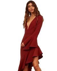 StyleStalker Ayden Bodysuit - Red