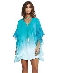 Young Fabulous & Broke Tate Coverup In Turquoise - Blue
