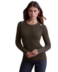 Bailey 44 Martha Sweater In Army - Green