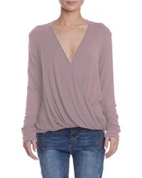 Sen Collection - Felicity Top In Blush - Lyst