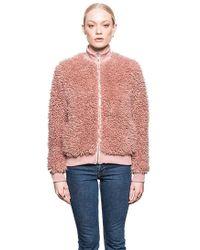 John + Jenn - Liam Bomber Jacket In Pink - Lyst