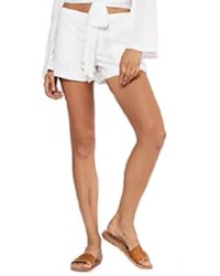 Young Fabulous & Broke - Con Short White - Lyst