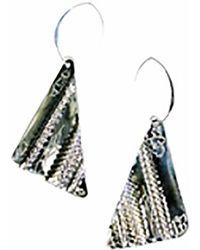 Sibilla G Jewelry | Sibilla G Oxidized German Silver Earrings | Lyst