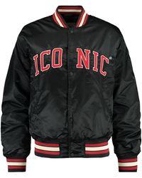 America Today Varsity Jacket - Zwart