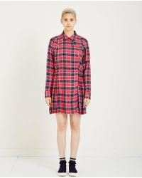 Opening Ceremony - Flannel Kilt Dress - Lyst