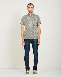 Kato - Slim Floral Print Bd Shirt - Lyst