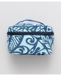 Kahiko Polynesian Cosmetic Pouch - Blue
