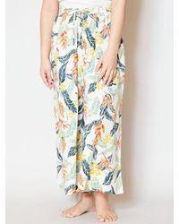 Kahiko Tropical Print Wide Pants - Multicolor