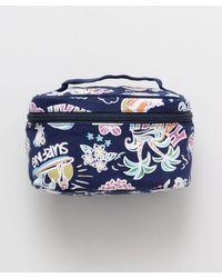 Kahiko Hawaiian Mana Cosmetic Bag - Blue