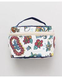 Kahiko Hawaiian Mana Cosmetic Bag - White