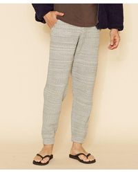 Kahiko Cable Knit Men's Pants - Gray