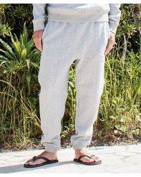 Kahiko Textured Cut Sew Men's Pants - Gray