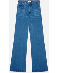 AMI Flare Fit Jeans - Blue