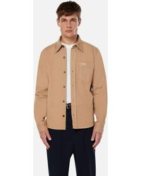 AMI Buttoned Overshirt - Natural