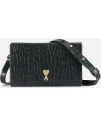 AMI Slim Box Bag - Green
