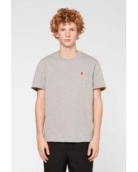 AMI Ami De Coeur T-shirt - Gray