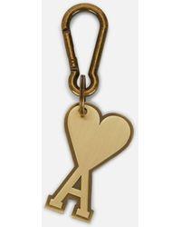 AMI De Coeur Keyring - Metallic