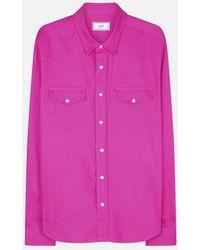 AMI - Press Button Ami Fit Shirt - Lyst