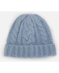 359488b53 Cable Knit Beanie - Blue
