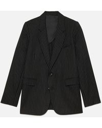 AMI Two Buttons Jacket - Black