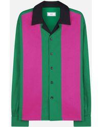 AMI - Camp Collar Shirt - Lyst