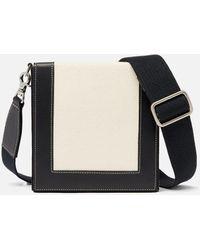 AMI Square Box Bag - Black