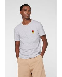 AMI Smiley T-shirt - Gray