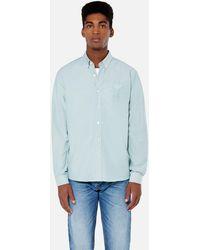AMI - Button-down Big Ami De Coeur Shirt - Lyst