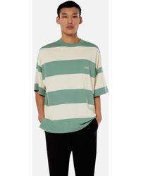 AMI - Rugby Striped T-shirt - Lyst